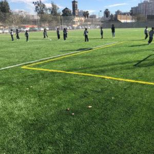 Pasto Sintético Colegio Hispanoamericano