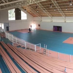 Piso Vinílico Polideportivo Municipal de Mostazal