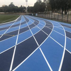 Pista Atlética Estadio Modelo de Pudahuel