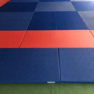 Tatami Profesional de Judo Complejo Deportivo Juan Gomez Milla de la Universidad de Chile