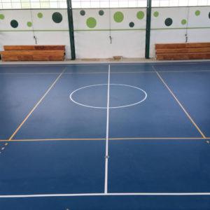 Piso Poliuretano Temuco Liceo Pillanlelbun