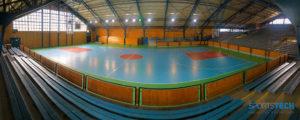 Piso Poliuretano Coyhaique Polideportivo Regional